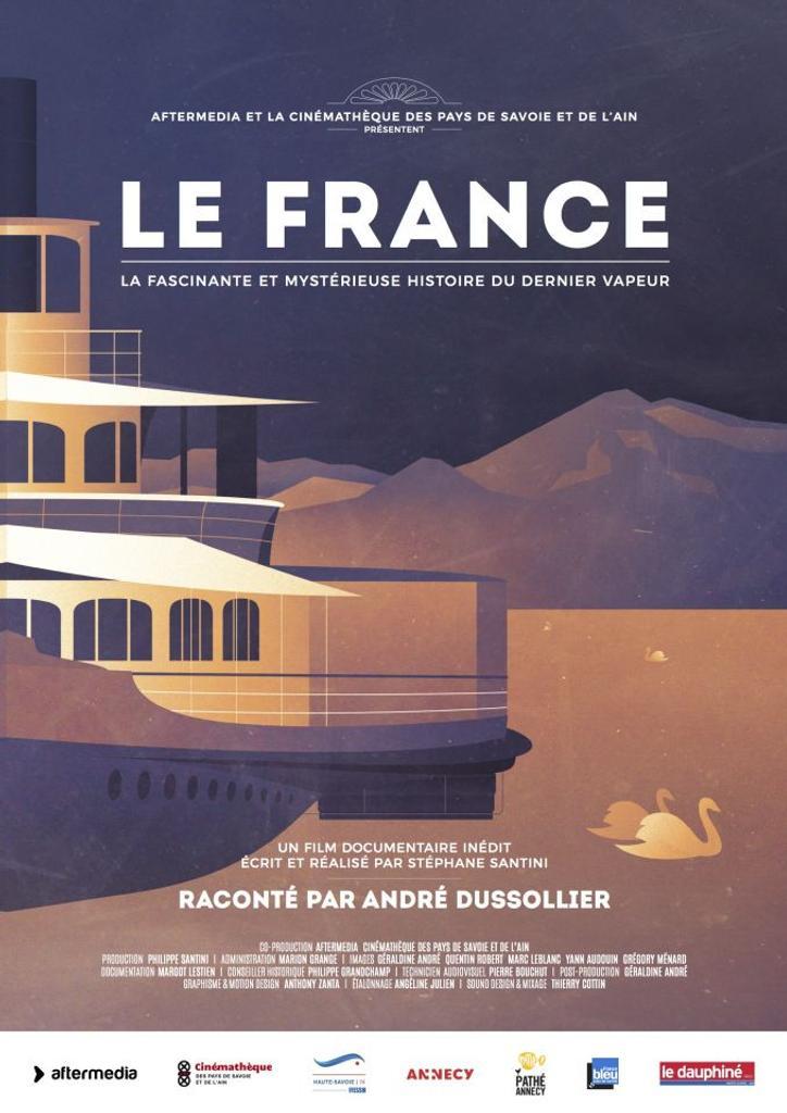 Le France : la fascinante et mystérieuse histoire du dernier vapeur / Stéphane Santini, réal. | Santini, Stéphane. Monteur